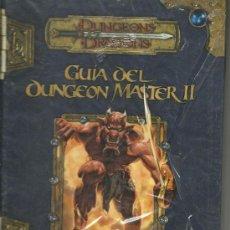 Juegos Antiguos: JUEGO DE ROL LIBRO DE ROL DUNGEONS & DRAGONS: GUÍA DE DUNGEON MASTER. Lote 37487060