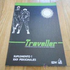 Juegos Antiguos: TRAVELLER - SUPLEMENTO 1: 1001 PERSONAJES - JUEGO ROL - DISEÑOS ORBITALES. Lote 37601133