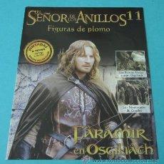 Juegos Antiguos: FARAMIR EN OSGILIATH. FASCÍCULO Nº 11 EL SEÑOR DE LOS ANILLOS - FIGURAS DE PLOMO. Lote 37771043