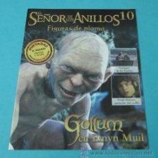 Juegos Antiguos: GOLLUM EN EMYN MUIL. FASCÍCULO Nº 10 EL SEÑOR DE LOS ANILLOS - FIGURAS DE PLOMO. Lote 37771064