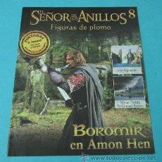 Juegos Antiguos: BOROMIR EN AMON HEN. FASCÍCULO Nº 8 EL SEÑOR DE LOS ANILLOS - FIGURAS DE PLOMO. Lote 37771121
