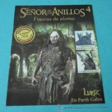 Juegos Antiguos: LURTZ EN LA PARTH GALEN. FASCÍCULO Nº 4 EL SEÑOR DE LOS ANILLOS - FIGURAS DE PLOMO. Lote 37771193