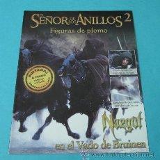 Juegos Antiguos: NAZGUL EN EL VADO DE BRUINEN. FASCÍCULO Nº 2 EL SEÑOR DE LOS ANILLOS - FIGURAS DE PLOMO. Lote 37771228