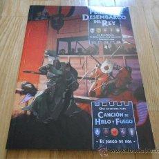 Juegos Antiguos: CANCIÓN DE HIELO Y FUEGO - PELIGRO EN DESEMBARCO DEL REY - JUEGO DE ROL - EDGE. Lote 37710294