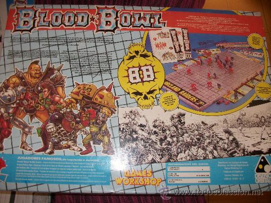Juegos Antiguos: BLOOD BOWL - DISEÑOS ORBITALES - 2 EQUIPOS - CAMPO DE ASTROGRANITO - MANUAL Y REGLAS - GAMES WORKSHO - Foto 5 - 37897419
