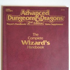 Juegos Antiguos: WIZARD HANDBOOK PARA ADVANCED DUNGEONS & DRAGONS 2ND EDITION. Lote 39061432