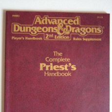 Juegos Antiguos: PRIEST HANDBOOK PARA ADVANCED DUNGEONS & DRAGONS 2ND EDITION. Lote 39061522