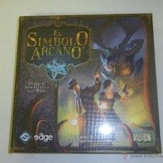 Juegos Antiguos: EL SIMBOLO ARCANO - ARKHAM HORROR - EDGE - UN JUEGO DE SUSPENSE E INVESTIGACION SOBRENATURAL. Lote 39394065