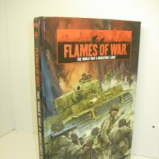 Juegos Antiguos: FLAMES OF WAR - THE WORLD WAR II MINIATURES GAME - EN INGLES - ROL - WARGAME. Lote 39561146