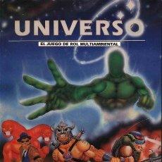 Juegos Antiguos: REVISTA UNIVERSO - EL JUEGO DE ROL MULTIAMBIENTAL - 1993 - EDITA CRONOPOLIS. Lote 39561966
