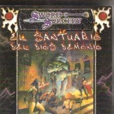 Juegos Antiguos: SWORD & SORCERY EL SANTUARIO DEL DIOS DEMONIO. Lote 39933665