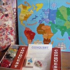 Juegos Antiguos: CONQUEST .JUEGO DE ESTRATEGIA PARA CONQUISTAR EL MUNDO .DE FALOMIR JUEGOS.COMPLETO,VER FOTOS. Lote 39987190