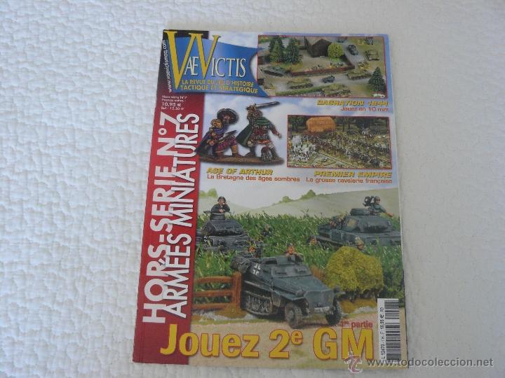 REVISTA VAE VICTIS HORS SERIE Nº 7 ARMÉES MINIATURES HISTOIRE & COLLECTIONS (Juguetes - Rol y Estrategia - Otros)