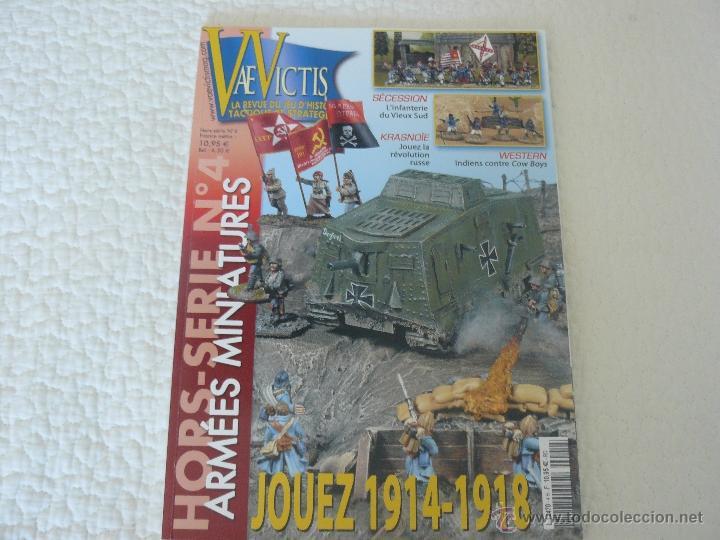 REVISTA VAE VICTIS HORS SERIE Nº 4 ARMÉES MINIATURES HISTOIRE & COLLECTIONS (Juguetes - Rol y Estrategia - Otros)