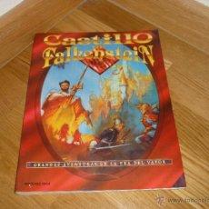 Juegos Antiguos: LIBRO ROL EL CASTILLO DE FALKENSTEIN EN LA ERA DEL VAPOR 1994 MARTINEZ ROCA RAREZA. Lote 40325407