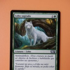 Juegos Antiguos: CARTA MAGIC LOBO SAGRADO. CRIATURA-LOBO - MATT STEWART. Lote 37047252