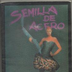 Juegos Antiguos: SEMILLA DE ACERO - CAMPAÑA PARA MUTANTES EN LA SOMBRA - JUEGO DE ROL LUDOTECNIA .SA. Lote 41004242