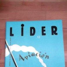 Juegos Antiguos: REVISTA LIDER Nº 12 AÑO 3 1988 WARGAMES CULTO AVIACION. Lote 41244817