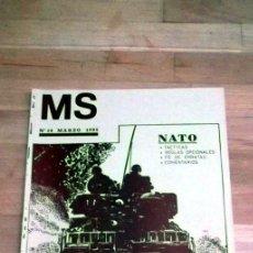 Juegos Antiguos: REVISTA MS Nª14 MARZO1985 WARGAMES CULTO NATO . Lote 41245119