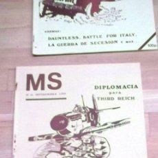 Juegos Antiguos: REVISTA MS Nª12 SEP 1984 WARGAMES DIPLOMACIA PARA III REICH. Lote 41245170