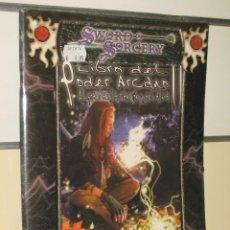 Juegos Antiguos: LIBRO DEL PODER ARCANO - SWORD & SORCERY - LA FACTORIA OFERTA. Lote 41512006