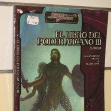 Juegos Antiguos: EL LIBRO DEL PODER ARCANO 3 - SWORD & SORCERY - LA FACTORIA OFERTA. Lote 41512093
