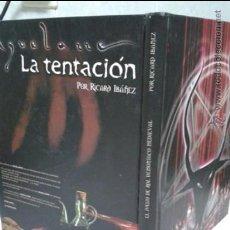 Juegos Antiguos: AQUELARRE, LA TENTACION, 2ª EDICION EN COLOR. RICARD IBAÑEZ. Lote 37415020