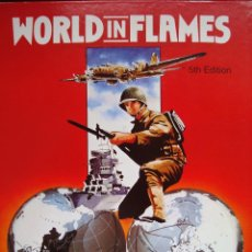 Juegos Antiguos: WORLD IN FLAMES 5ª ED - GLOBAL CONFLICT: 1939-1945 - ADG. Lote 41809196