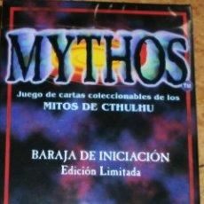 Juegos Antiguos: JUEGO DE CARTAS MITOS DE CTHULHU. Lote 42249484
