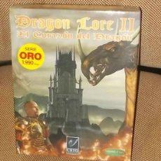 Juegos Antiguos: JUEGO DE ROL DRAGON LORE II. EL CORAZON DEL DRAGON. FRIENDWARS. CD + LIBRO + CAJA. VER FOTO. Lote 42065958