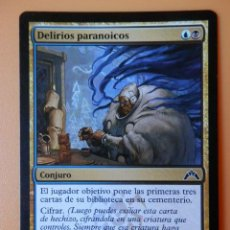Juegos Antiguos: CARTA MAGIC DELIRIOS PARANOICOS. CONJURO - CHRISTOPHER MOELLER. Lote 42146237