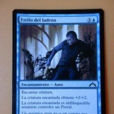 Juegos Antiguos: CARTA MAGIC ESTILO DEL LADRÓN. ENCANTAMIENTO-AURA - IGOR KIERYLUK. Lote 42146255