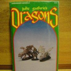 Juegos Antiguos: JULIE SUTHRIES DRAGONS - DRAGON BLANCO - - GRENADIER MODEL - CAJA PRECINTADA AÑO 1990. Lote 42438182