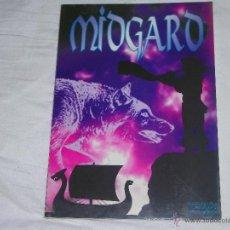 Juegos Antiguos: MIDGARD - JUEGO DE ROL - ¡¡FORRADO!!. Lote 42863680