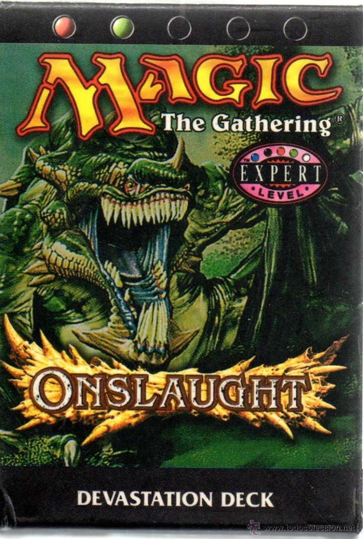 . JUEGO MAGIC THE GATHERING ONSLAUGHT LEVEL EXPERT EN INGLES (Juguetes - Rol y Estrategia - Otros)