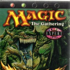 Juegos Antiguos: . JUEGO MAGIC THE GATHERING ONSLAUGHT LEVEL EXPERT EN INGLES. Lote 43000871