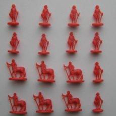 Juegos Antiguos: LOTE DE FIGURAS DEL JUEGO DE MESA NARNIA. Lote 43222673