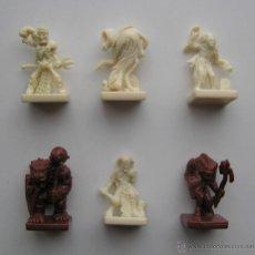 Juegos Antiguos: LOTE DE FIGURAS DEL JUEGO DE MESA DE ROL. Lote 43222929