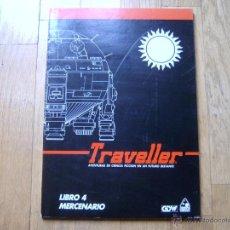 Juegos Antiguos: TRAVELLER - LIBRO 4: MERCENARIO - JUEGO DE ROL - DISEÑOS ORBITALES 1990 - GDW. Lote 44664386