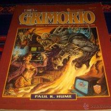 Juegos Antiguos: EL GRIMORIO SHADOWRUN DE PAUL R. HUME. ZINCO FASA. 1994. RARO.. Lote 44169759