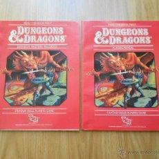 Juegos Antiguos: DUNGEONS & DRAGONS - BASIC SET 1 - JUEGO DE ROL - INGLÉS - TSR - RPG. Lote 44235176