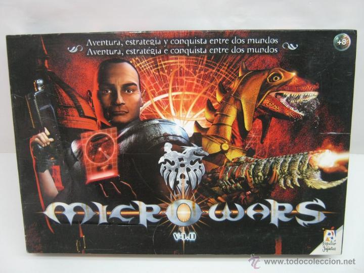 Juegos Antiguos: Micro Wars - Juego de estrategia Popular Microwars - Foto 5 - 44327861