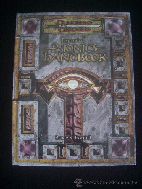DUNGEONS & DRAGONS - EXPANDED PSIONICS HANDBOOK - INGLÉS - ROL (Juguetes - Rol y Estrategia - Juegos de Rol)