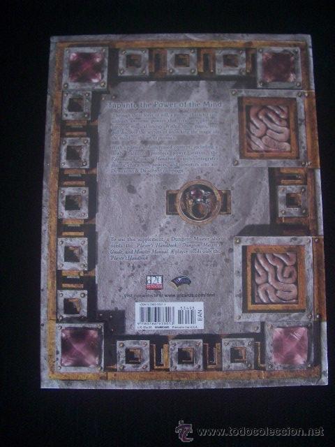 Juegos Antiguos: DUNGEONS & DRAGONS - Expanded PSIONICS HANDBOOK - Inglés - ROL - Foto 2 - 45023702