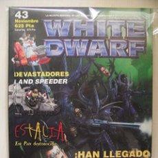 Juegos Antiguos: LOTE DE 5 REVISTAS WHITE DWARF.. Lote 45125426