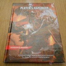 Juegos Antiguos: DUNGEONS & DRAGONS - PLAYER´S HANDBOOK - JUEGO DE ROL - INGLÉS - WOTC - D&D QUINTA EDICIÓN. Lote 45350186