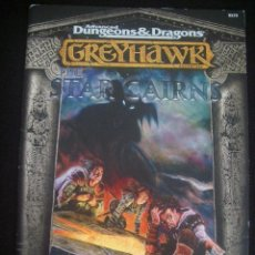 Jeux Anciens: GREYHAWK - ADVANCED DUNGEONS & DRAGONS - THE STAR CAIRNS - INGLÉS. Lote 45438959