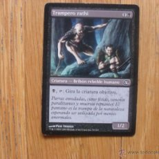 Juegos Antiguos: CARTA MAGIC TRAMPERO RATHI. Lote 45524952