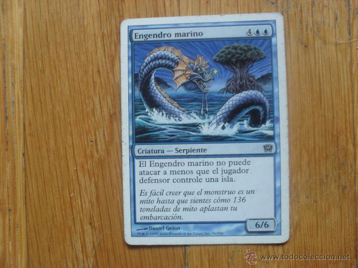 CARTA MAGIC ENGENDRO MARINO (Juguetes - Rol y Estrategia - Otros)