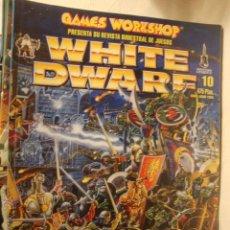 Juegos Antiguos: REVISTA MAGAZINE WHITE DWARE JUEGOS DE ROL. Lote 45845151